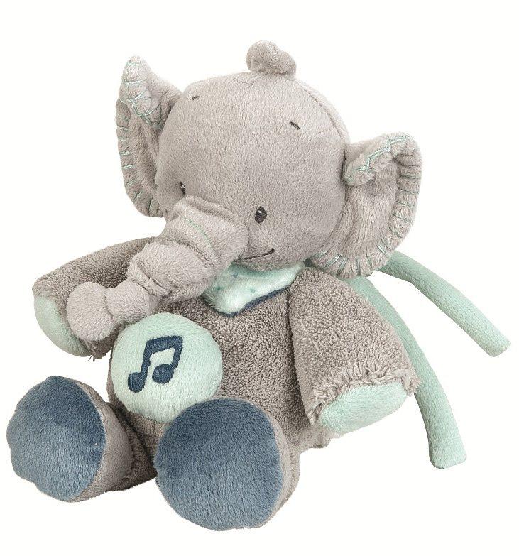 NATTOU Minispieluhr, »Jack der Elefant«