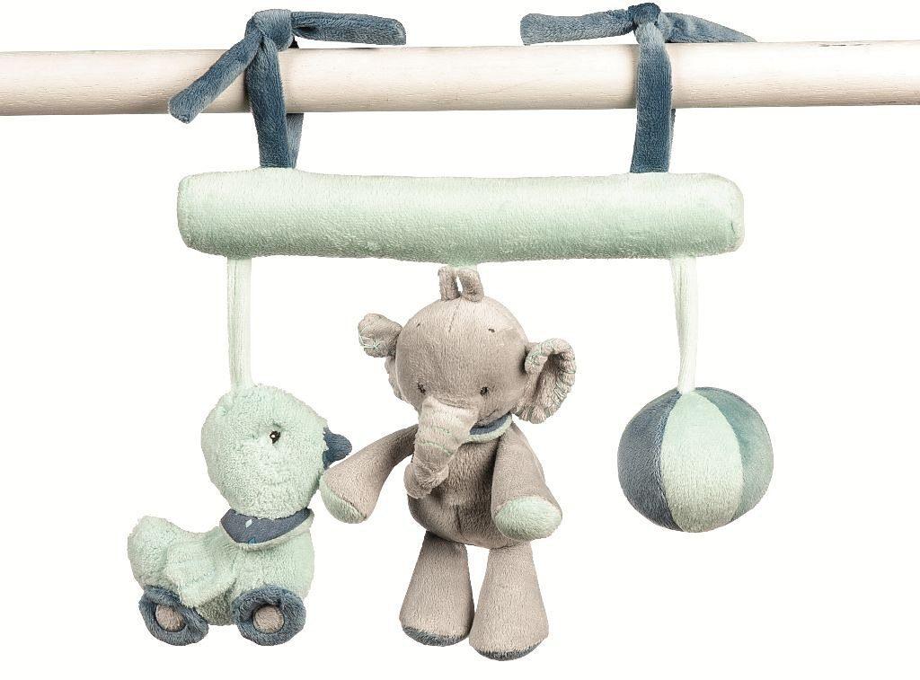 NATTOU Maxi Toy Mobile für Wippe, blau, »Jack, Jules & Nestor«