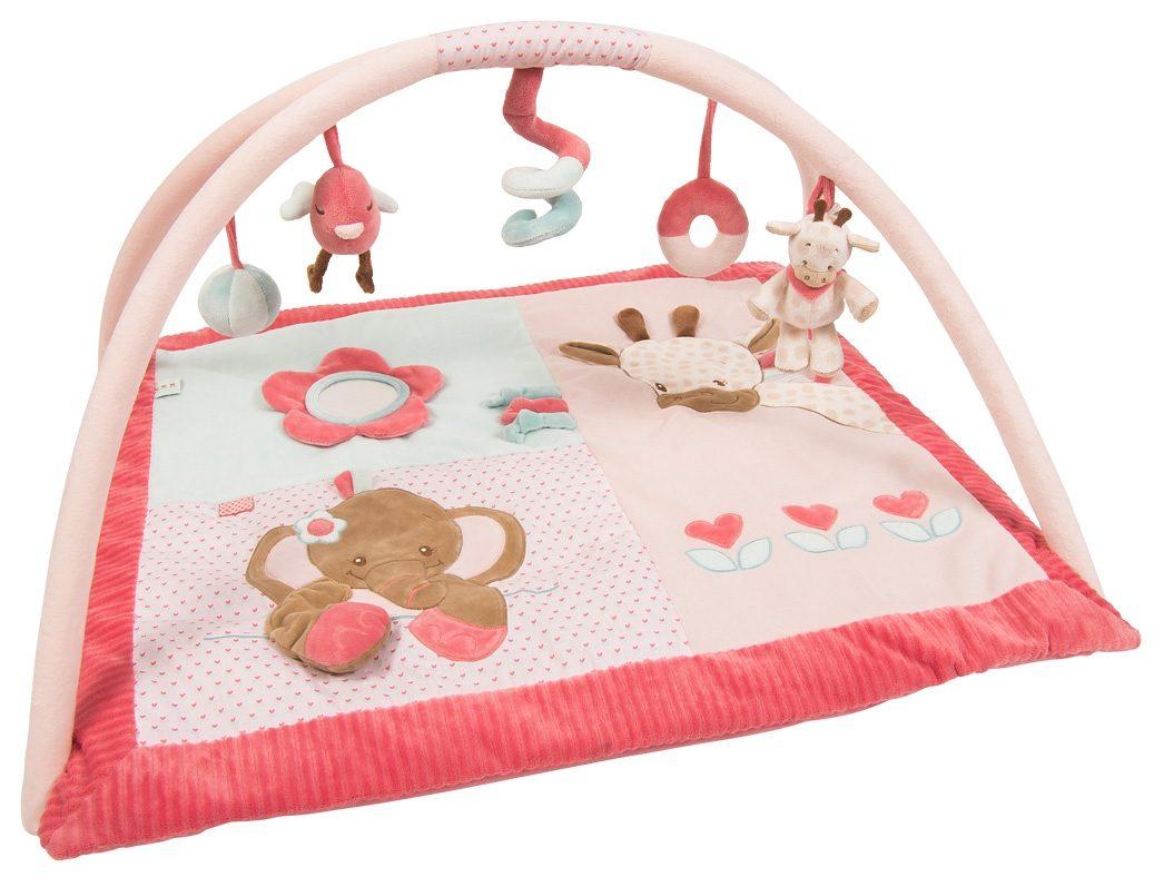 NATTOU Spielbogen mit Decke »Rose der Elefant - Krabbeldecke mit Bogen«