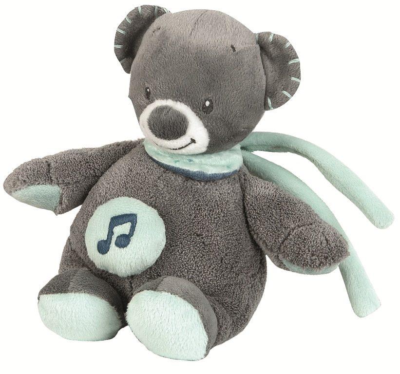 NATTOU Minispieluhr, »Jules der Bär«