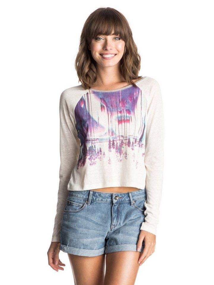 Roxy T-Shirt »Shipster Bluff Glich Palms« in sand piper