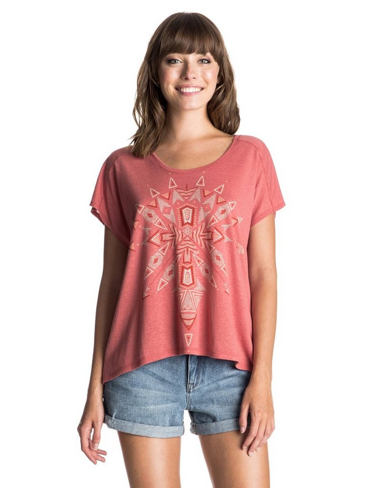 Roxy T-Shirt »Fashion Dolman Beach Tribe« in faded rose