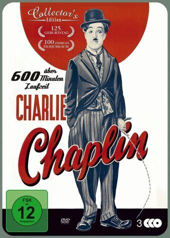 DVD »Charlie Chaplin (Collector's Edition, 3 Discs)«