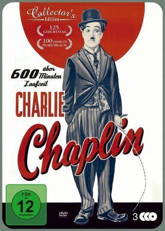 DVD »Charlie Chaplin (Collector's Edition, 3 Discs)«