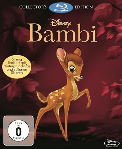 Blu-ray »Bambi 1+2 (Collector's Edition, 2 Discs)«