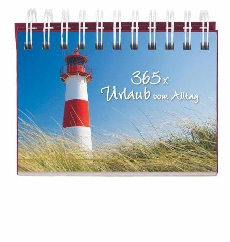 Kalender »365 x Urlaub vom Alltag«