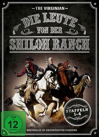 DVD »Die Leute von der Shiloh Ranch - Staffel 1-4 -...«