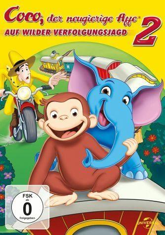 DVD »Coco, der neugierige Affe 2«