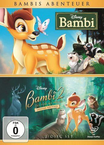 DVD »Bambis Abenteuer: Bambi (Diamond Edition) +...«