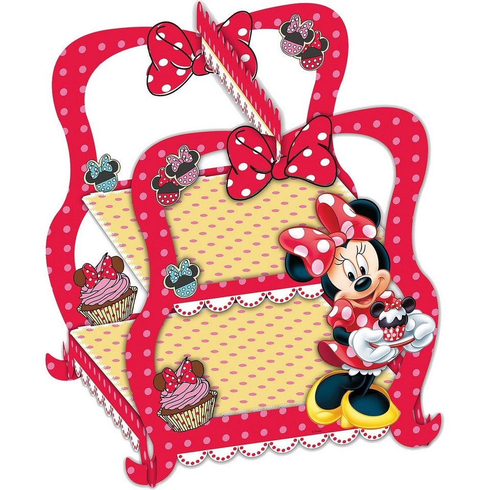 Procos Cupcake Etagere Minnie Mouse