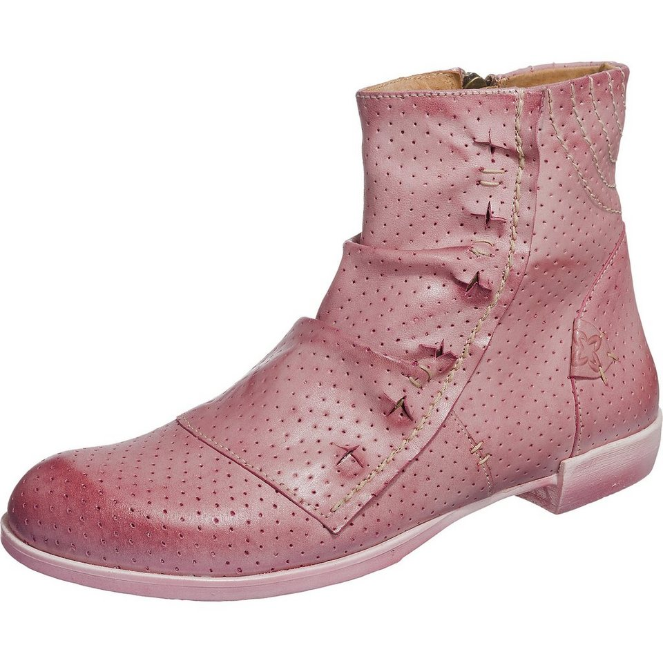 Maciejka Stiefeletten in rosa