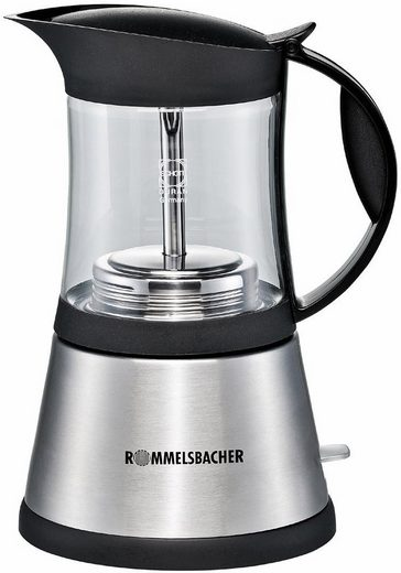 Rommelsbacher Espressokocher EKO 376/G, 0,35l Kaffeekanne, aus Schott DURAN® Glas