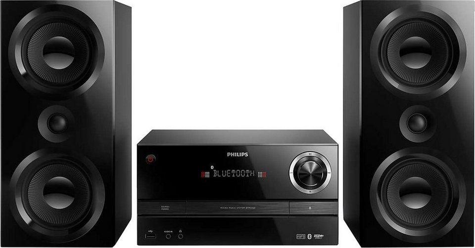 Philips BTM3360 Stereoanlage, Bluetooth, RDS, 1x USB in schwarz