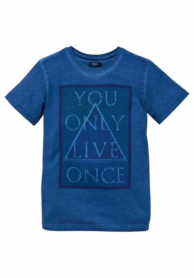 Buffalo t shirt mit frontdruck you only live once for Custom t shirts buffalo ny