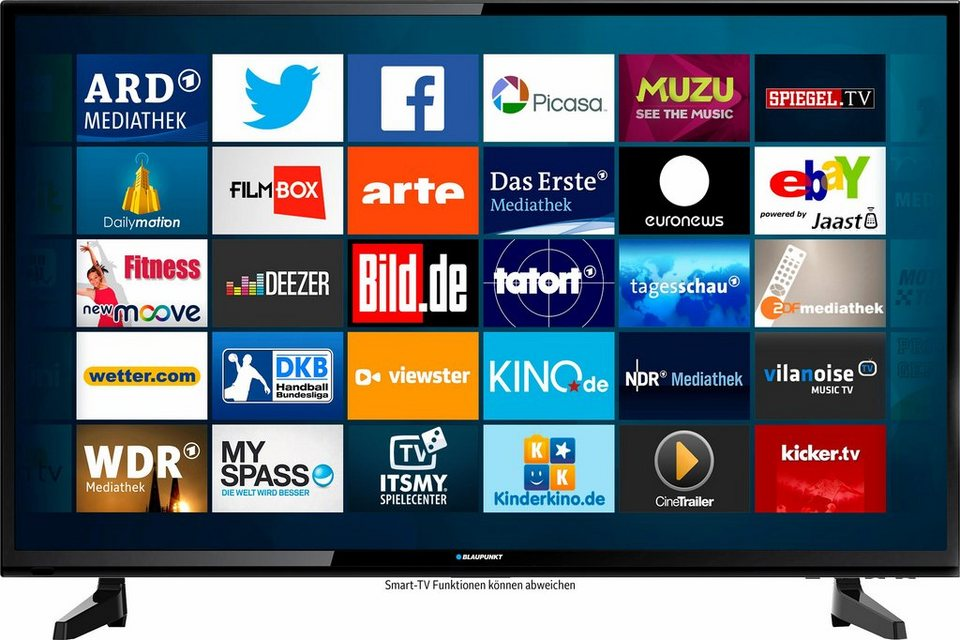 blaupunkt b49z148t2cs smart led fernseher 123 cm 49 zoll 1080p full hd smart tv online. Black Bedroom Furniture Sets. Home Design Ideas