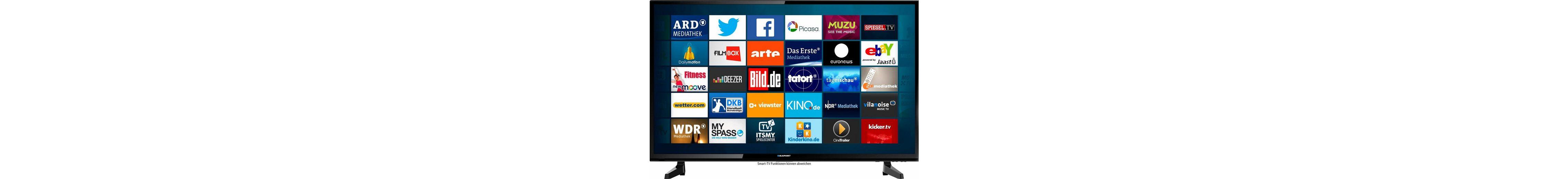 Blaupunkt B49Z148T2CS Smart, LED Fernseher, 123 cm (49 Zoll), 1080p (Full HD), Smart-TV