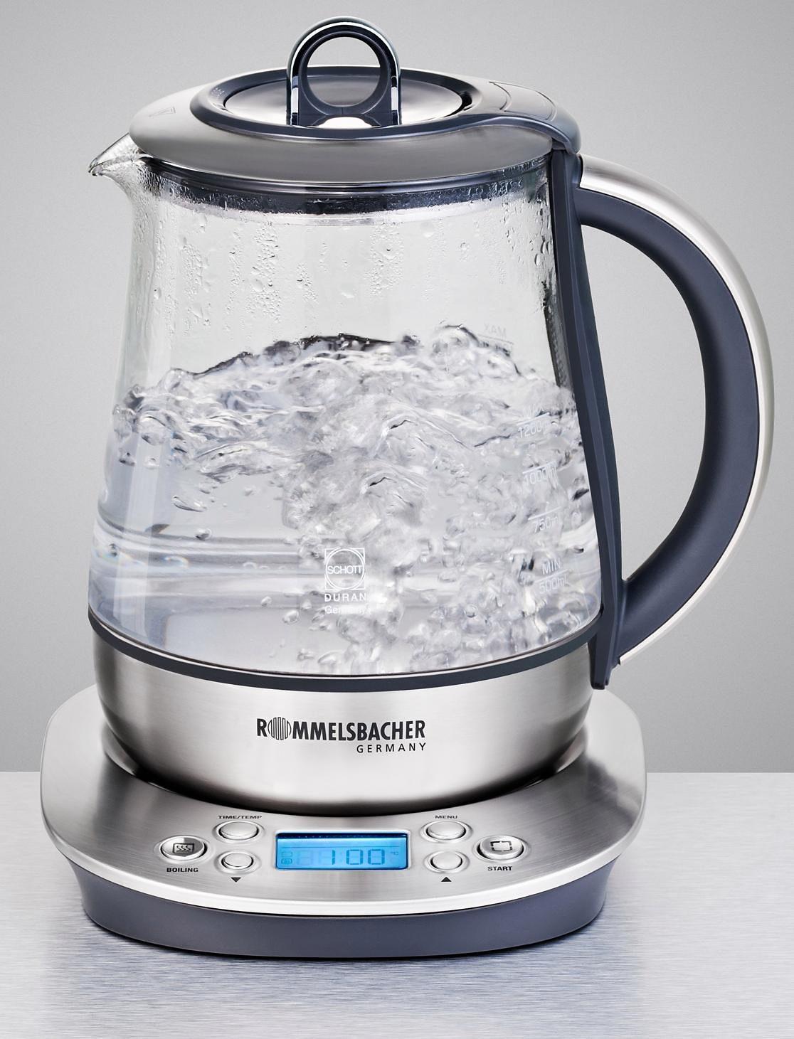Rommelsbacher Tee- & Wasserkocher TA 1400, 1,2 Liter, 1400 Watt