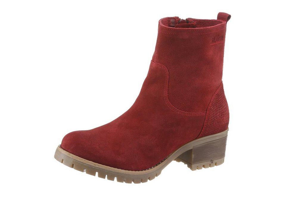 s.Oliver RED LABEL Sommerboots in rot