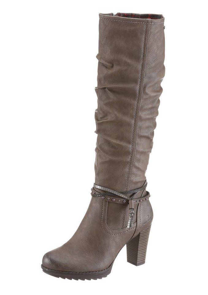 Tom Tailor Stiefel in taupe