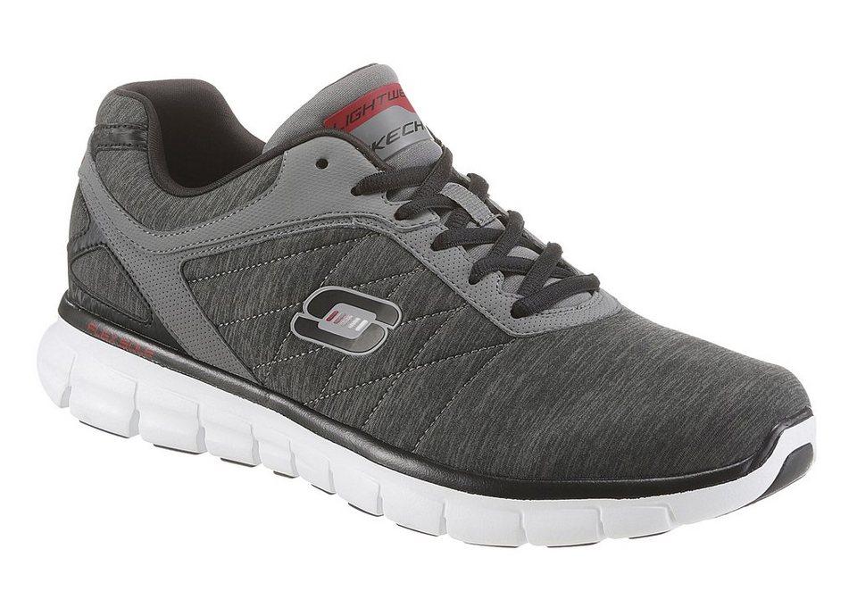 Skechers »Synergy - Instant Reaction« Sneaker mit Skechers Memory Foam in dunkelgrau-grau