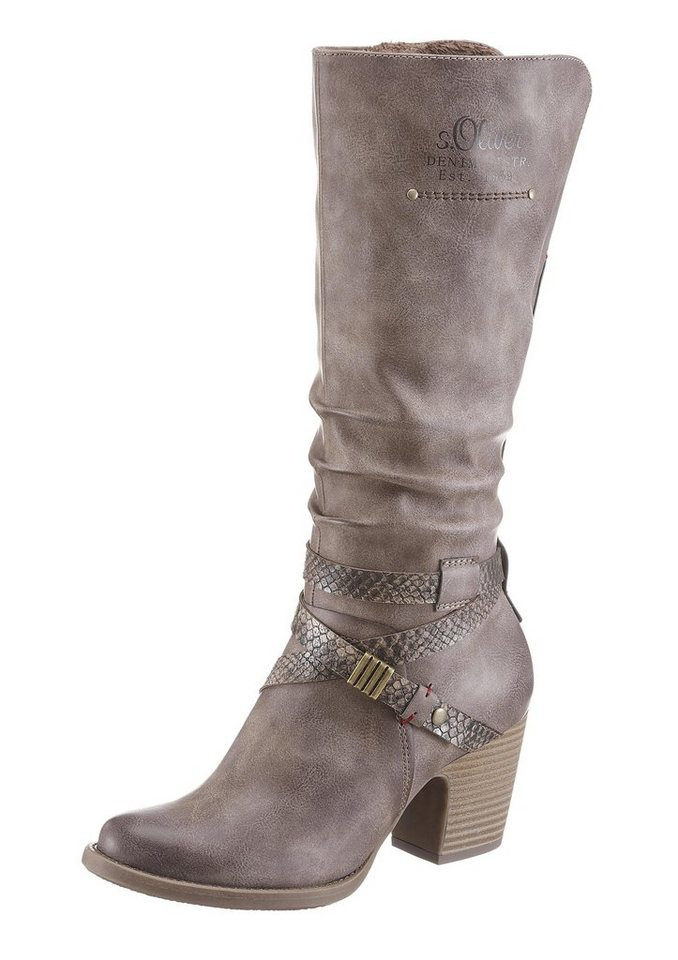s.Oliver RED LABEL Stiefel in taupe