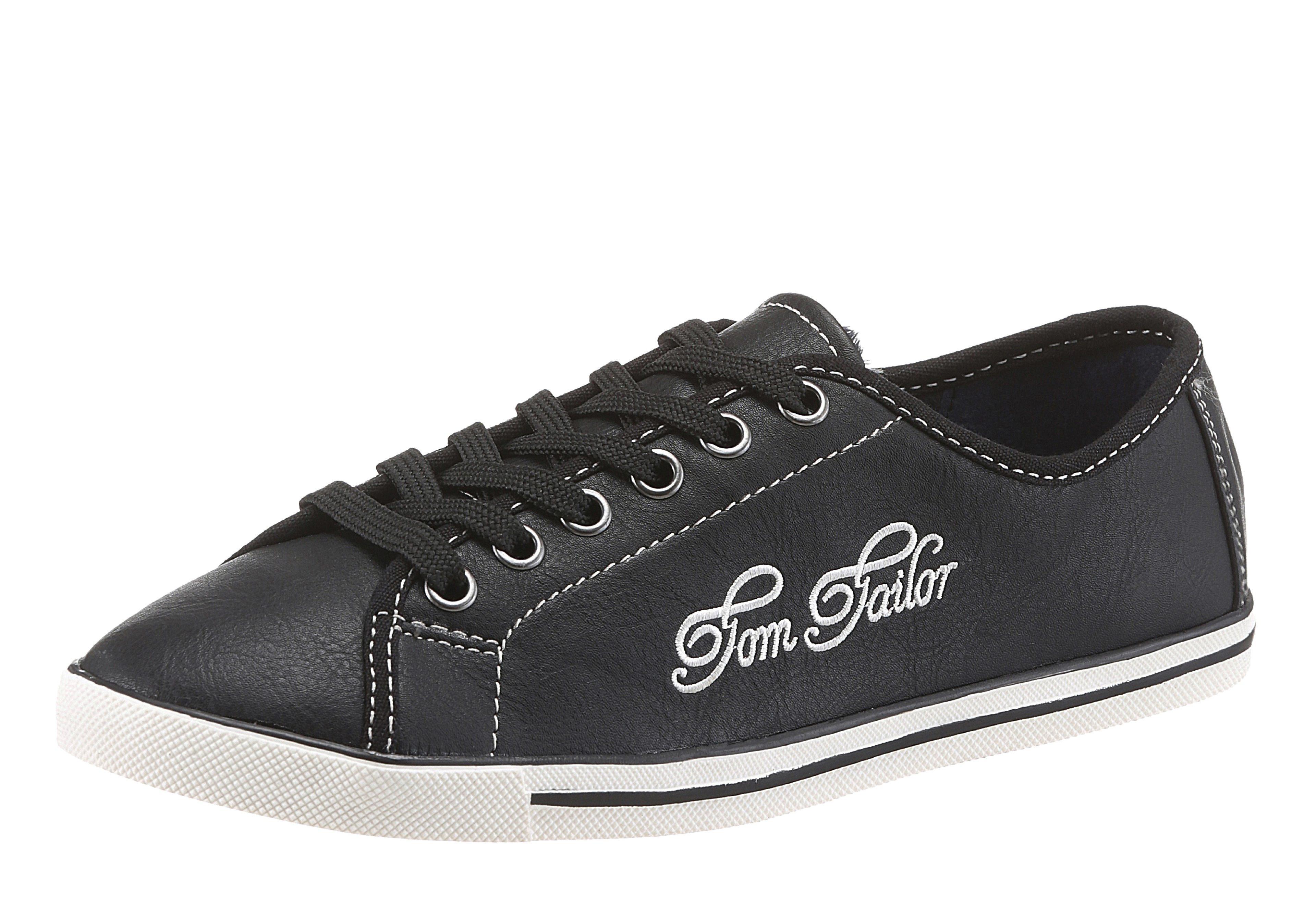 Tom Tailor Sneaker online kaufen  schwarz