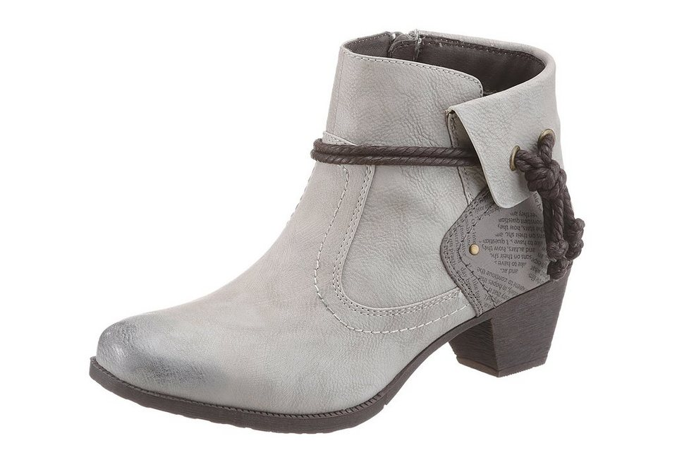 Hush Puppies Stiefelette in offwhite