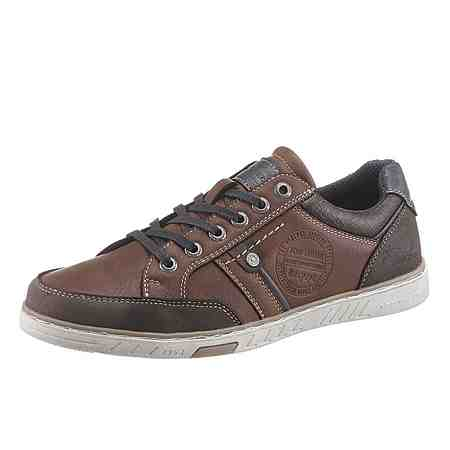 Tom Tailor Sneaker im Material Mix
