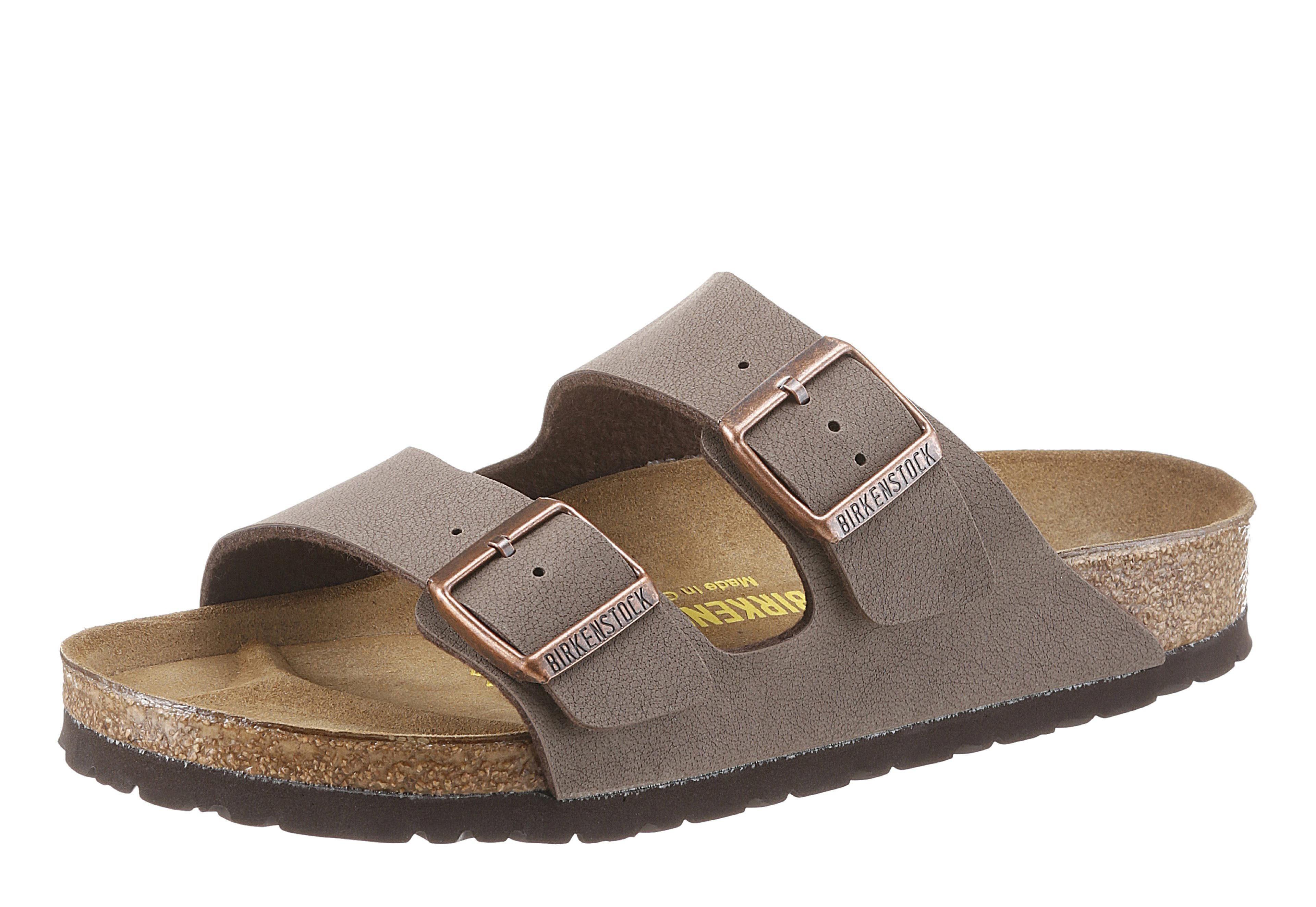 Birkenstock ARIZONA BF Pantolette, mit ergonomisch geformtem Fußbett online kaufen  mokka