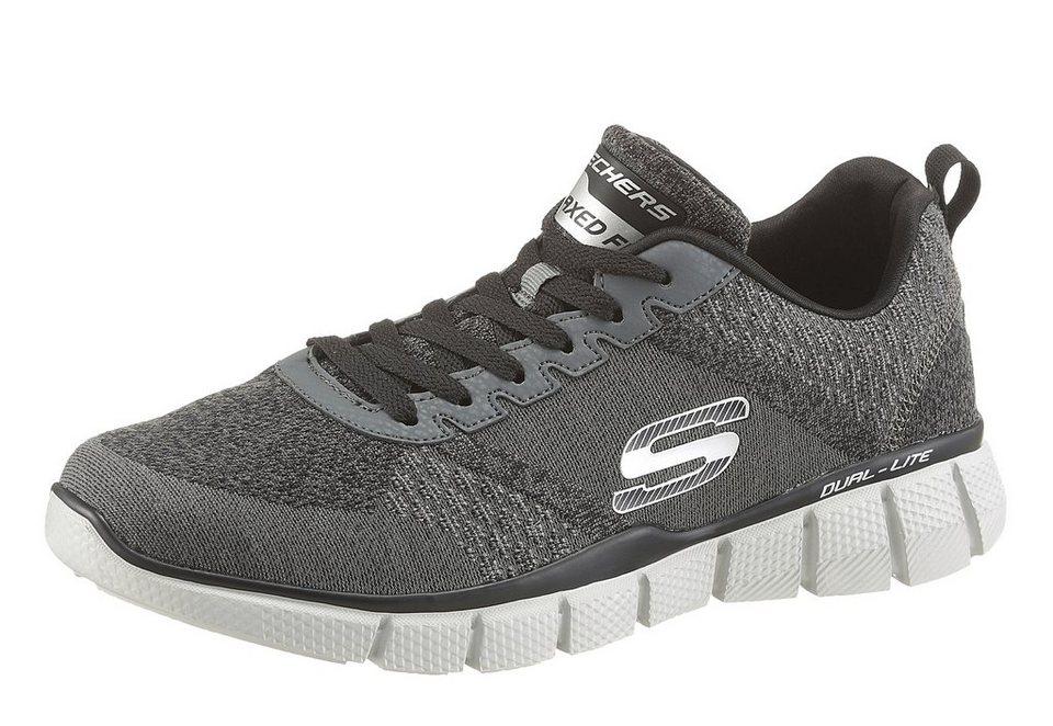 Skechers »Equalizer 2.0 - True Balance« Sneaker mit Memory Foam in grau-schwarz