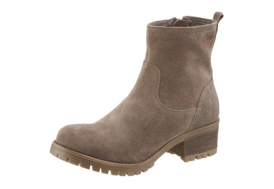 s.Oliver RED LABEL Sommerboots in taupe