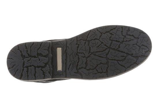 PETROLIO Schnürstiefel, mit Ziernaht um die Laufsohle