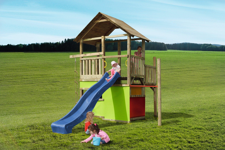Spielturm »MAX & MORITZ 10 + Rutsche«
