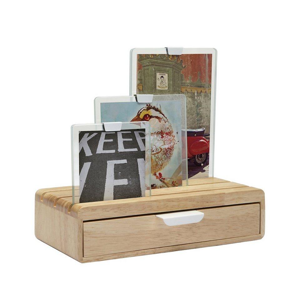 umbra Umbra SLIDER Fotorahmen und Box in Holz
