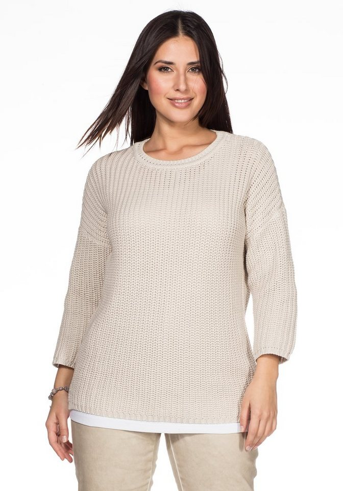 by s.Oliver Pullover in sand