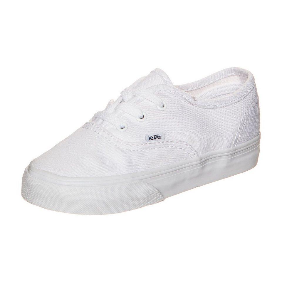 VANS Authentic Sneaker Kleinkinder in weiß