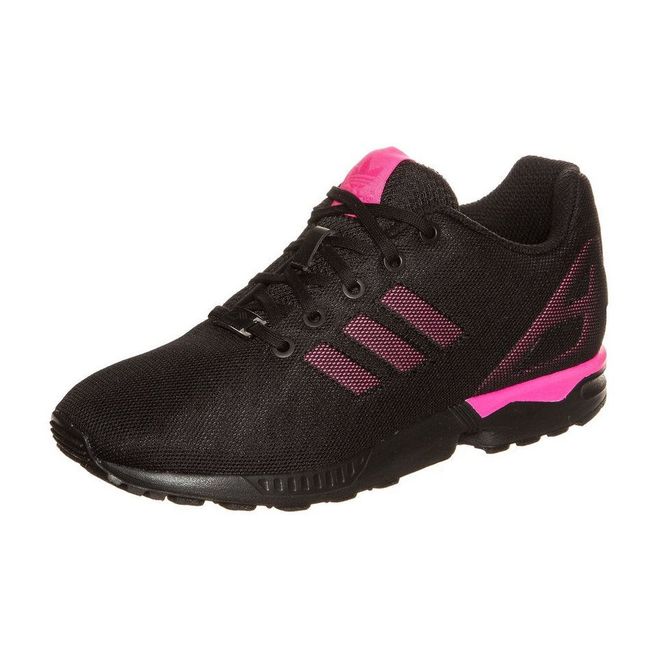 adidas Originals ZX Flux Sneaker Kinder in schwarz / pink