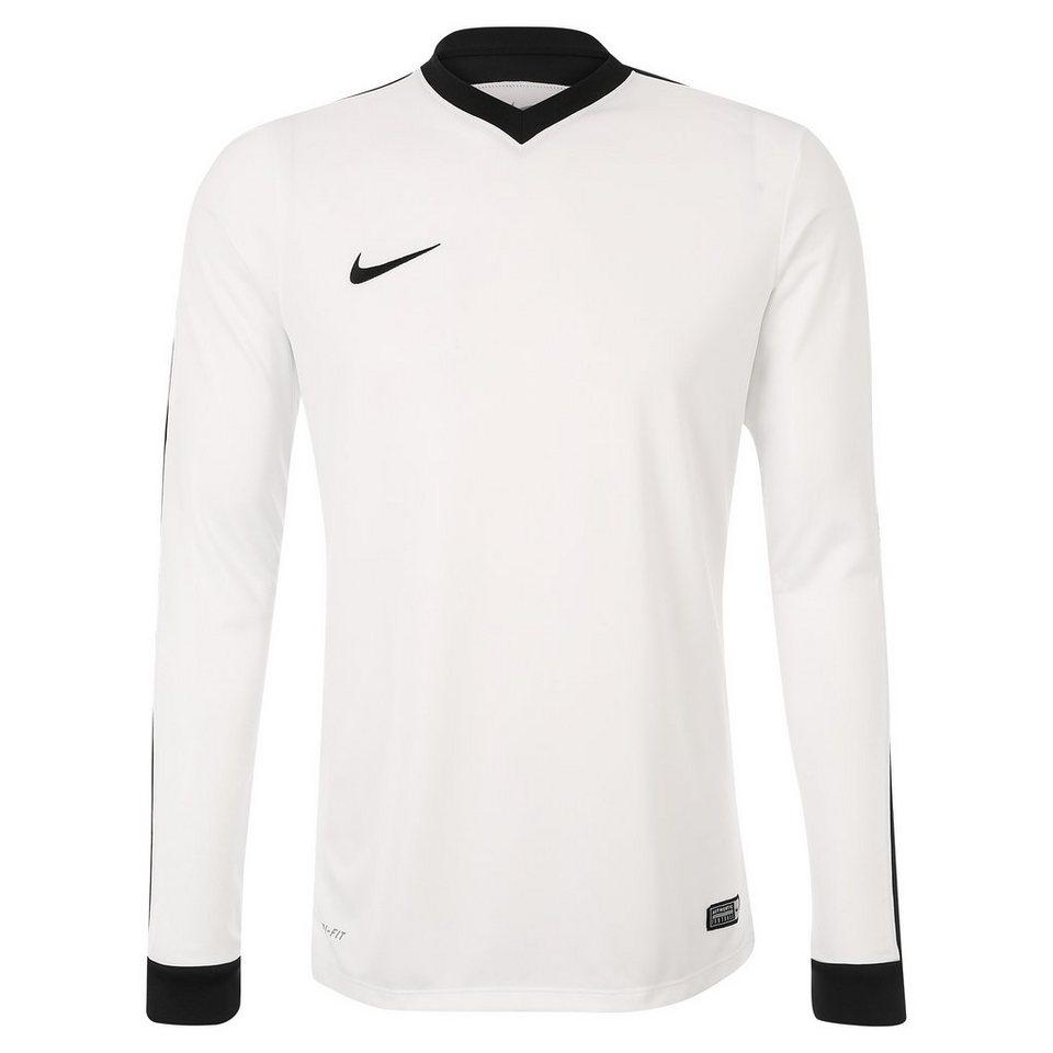 NIKE Striker IV Fußballtrikot Herren in weiß / schwarz