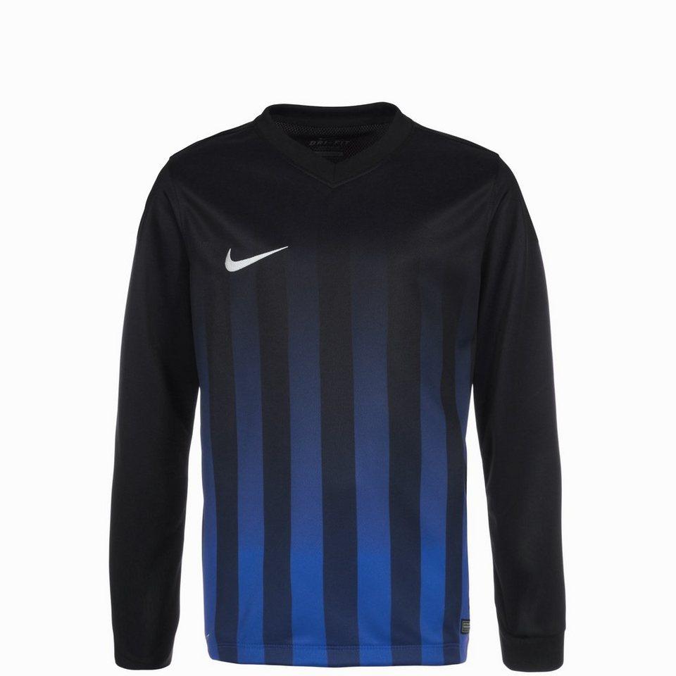 NIKE Striped Division II Fußballtrikot Kinder in schwarz / blau / wei