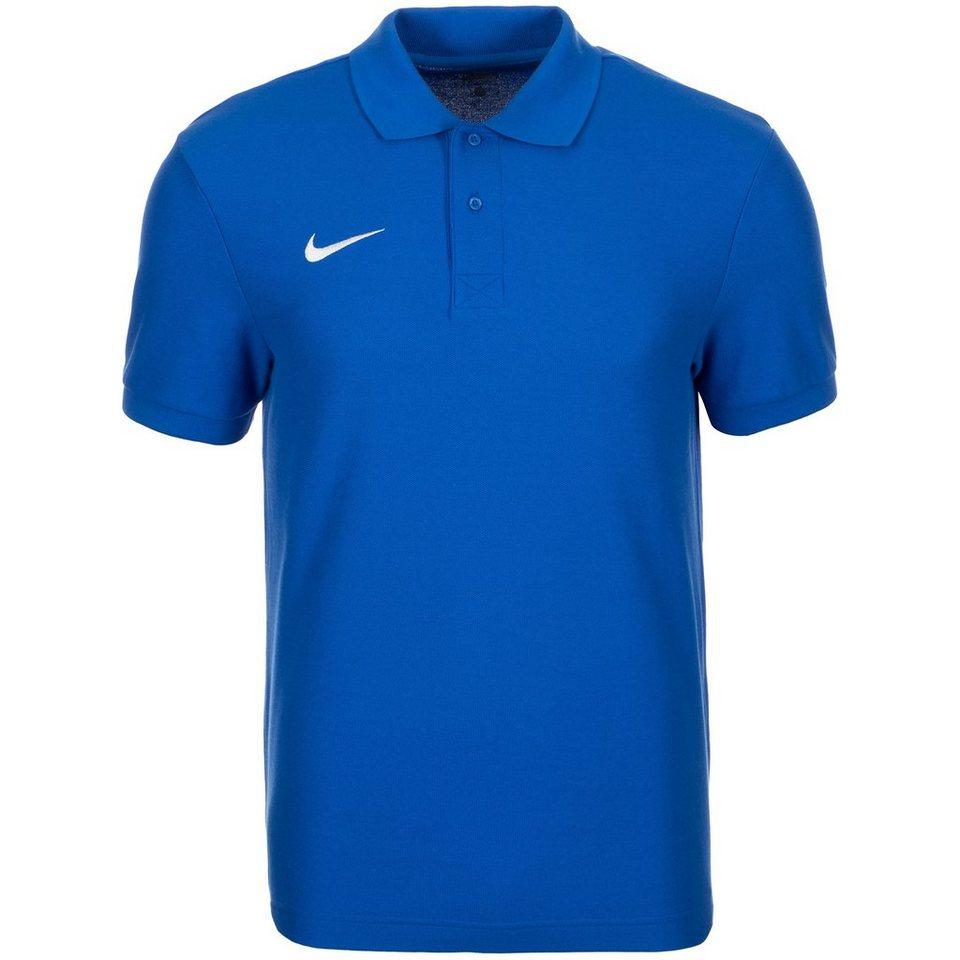 NIKE Core Poloshirt Herren in blau / weiß