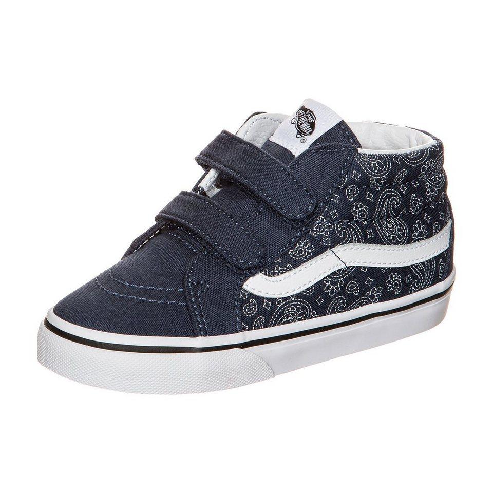 VANS Sk8-Mid Reissue V Bandana Sneaker Kleinkinder in dunkelblau / weiß
