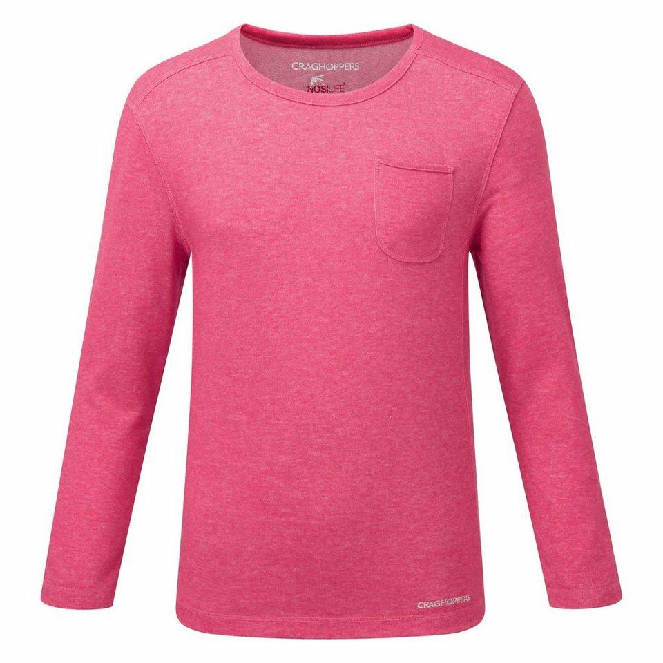 Craghoppers NosiLife Shirt Zecken und Insektenschutz »Louise « in Electric Pink Marl