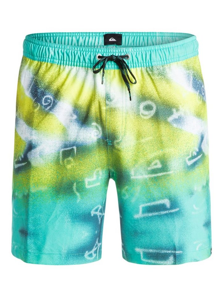 Quiksilver Boardshort »Glitched 17« in glitched pool green
