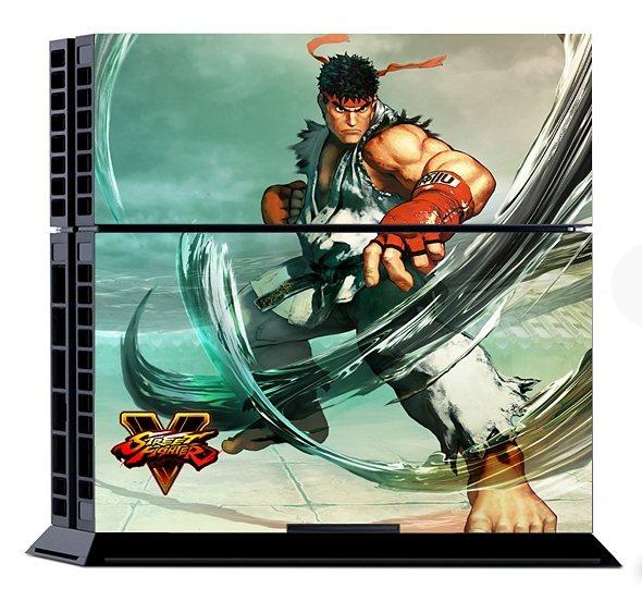 Snakebyte Street Fighter 5 Console Sticker Kit (Skin für PS4) »(PS4)«