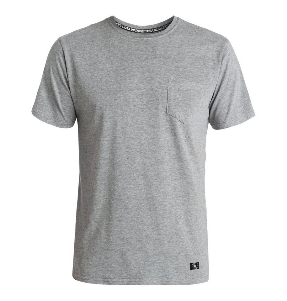 DC Shoes T-Shirt »Pocket« in heather grey