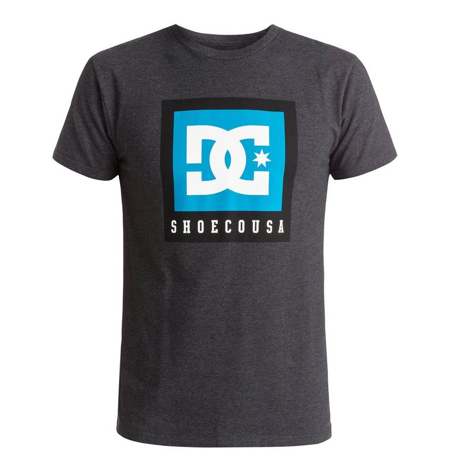 DC Shoes T-Shirt »Boxed Out« in Dark heather grey