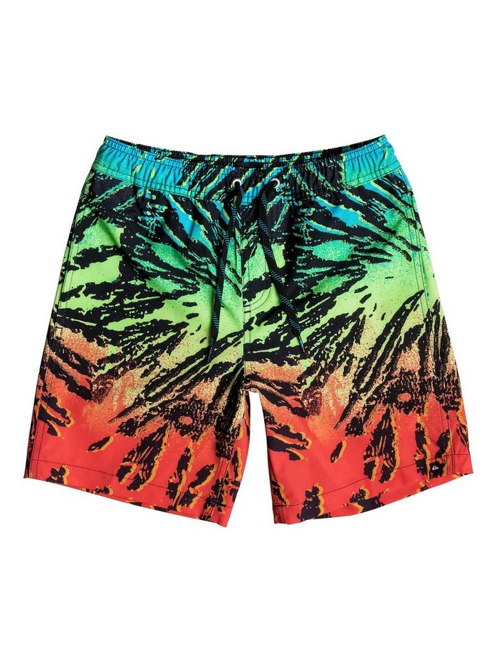 Quiksilver Boardshort »Glitched 15« in glitched fiery coral