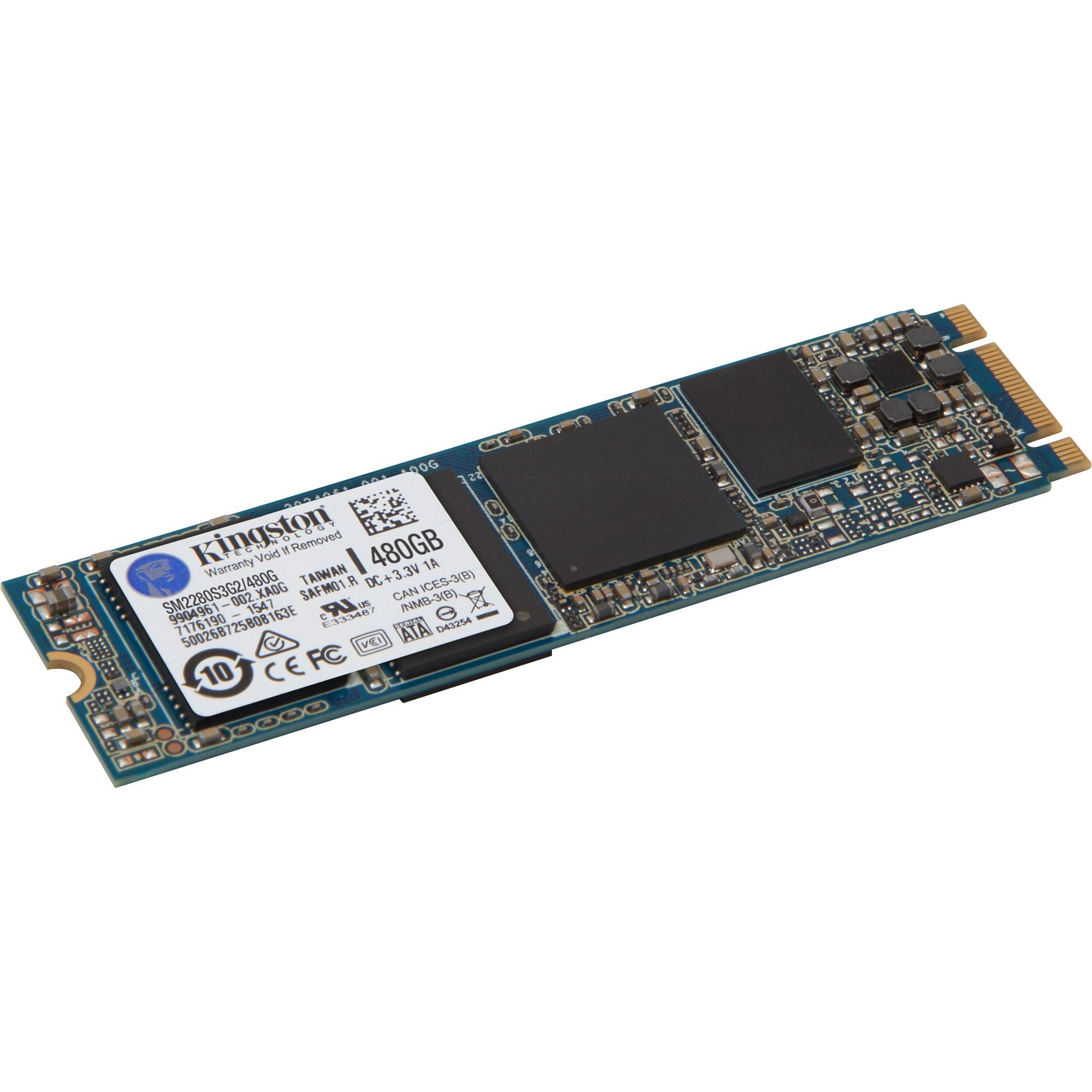 Kingston Solid State Drive »SM2280S3G2/480G 480 GB«