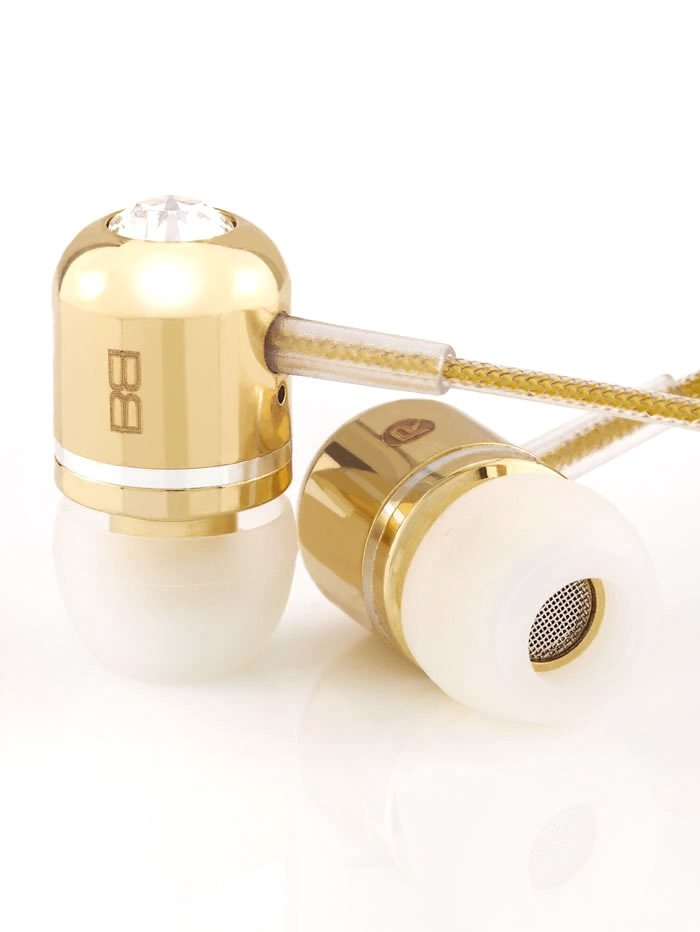 BassBuds InEar Kopfhörer »24 Carat Gold Collection« in gold