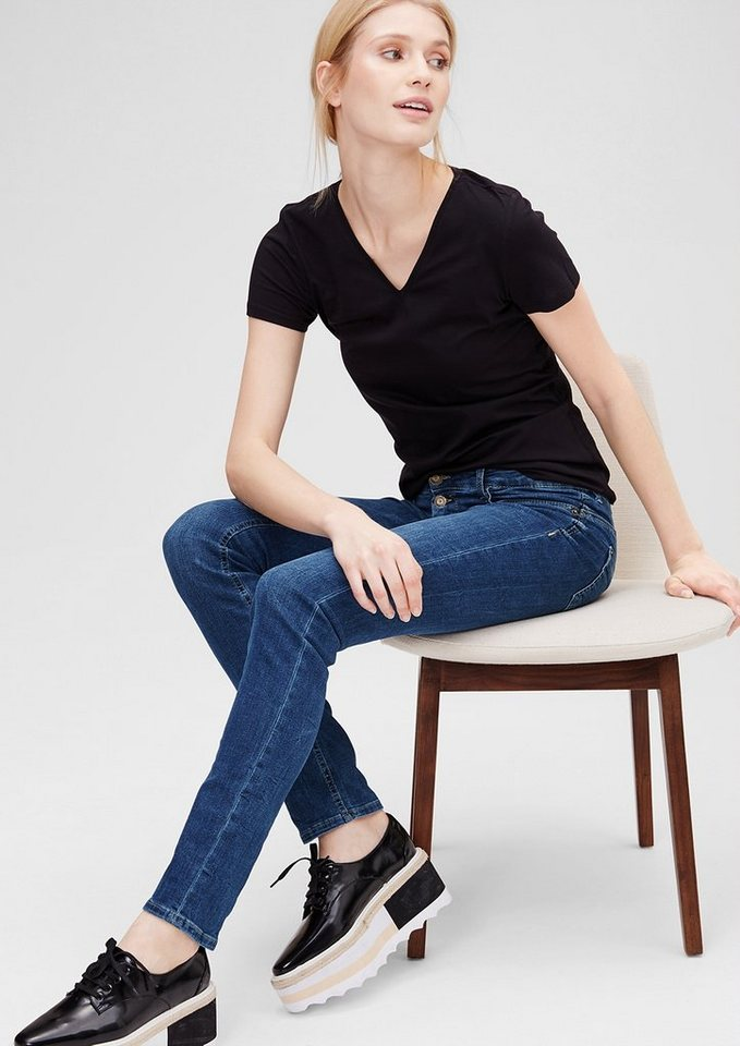 s oliver shape slim stretch jeans online kaufen otto. Black Bedroom Furniture Sets. Home Design Ideas